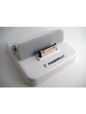 Powermat Apple 30-Pin Wireless Charging Dock (iPhone-, iPod-, iPad-compatible)